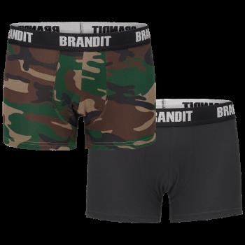 Pánské boxerky s logem, 2 ks, Brandit