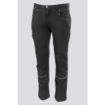 Outdoorové strečové kalhoty FOBOS, černé, Promacher