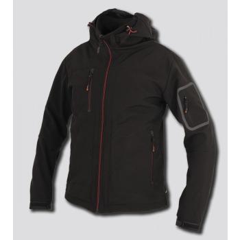 Softshellová bunda RUFUS, černá, Promacher