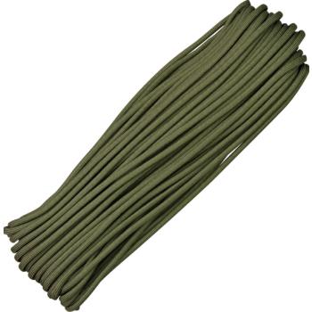 Padáková šňůra, 30 m, olivová, Parachute Cord
