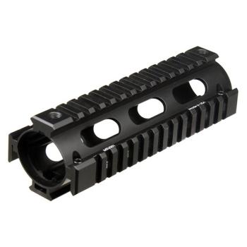 UTG PRO 4-railové předpažbí Model 4, typ drop-in, Carbine, černé