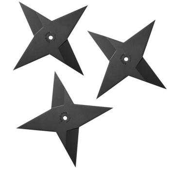 Vrhací hvězdice Medium Sure Strike, hladké ostří, 119 g, 3 ks, Cold Steel