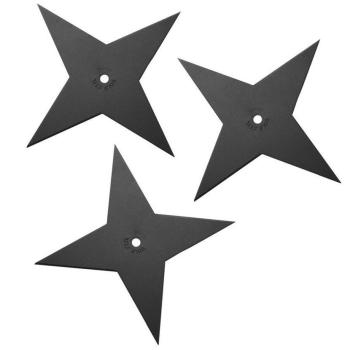 Vrhací hvězdice Light Sure Strike, hladké ostří, 79 g, 3 ks, Cold Steel