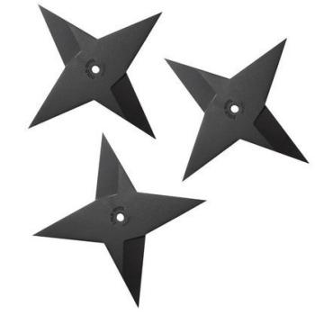 Vrhací hvězdice Heavy Sure Strike, hladké ostří, 181 g, 3 ks, Cold Steel
