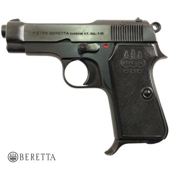 Beretta 35, ráže 7,65 Browning, hlaveň 80 mm, pistole samonabíjecí, použitá