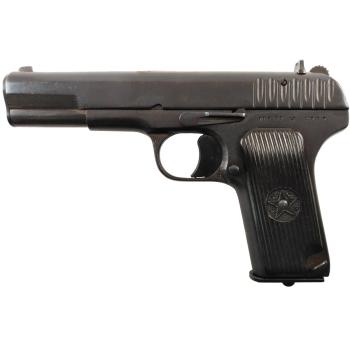 Tokarev model TT-33 7,62x25, pistole samonabíjecí, použitá