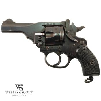 Webley & Scott Mark IV .38 S&W, revolver použitý