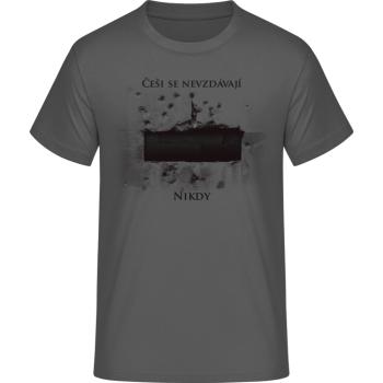 Pánské triko Anthropoid, šedé, Forces Design
