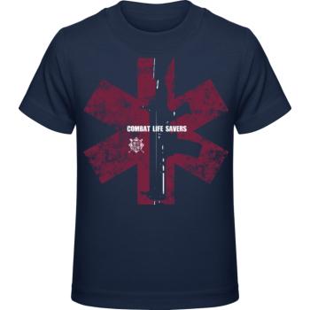 Dětské tričko CLS I., modré, Forces Design