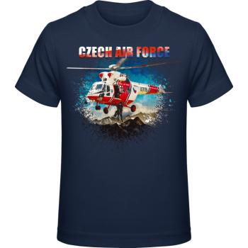 Dětské tričko Airforce III., modré, Forces Design
