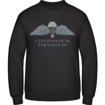 Pánská mikina Parawings, sweatshirt, černá, Forces Design