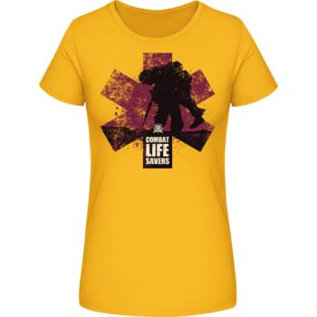 Dámské triko CLS II., žluté, Forces Design