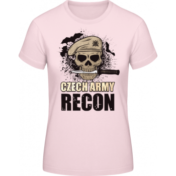 Dámské triko Recon, světle růžové, Forces Design
