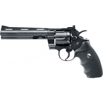 """Vzduchový revolver Colt Python 6"""" černý DIABOLO/BB CO2, 4,5 mm"""
