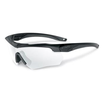 Balistické brýle Crossbow, černý rám, čirá skla, ESS