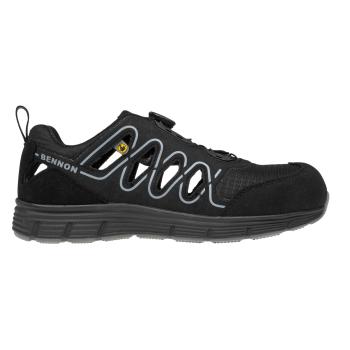 Sportovní boty Rebel S1P ESD ATOP Grey Low, Bennon