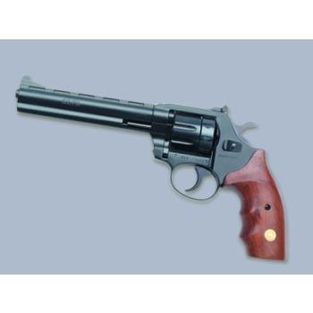 """Revolver Alfa model 661 6"""", 6mm Flobert, černěný, stavitelné hledí, dřevěné střenky"""