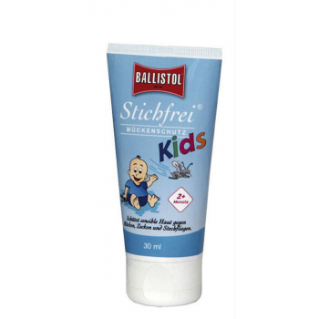 Repelent proti hmyzu Ballistol STICHFREI pro děti, krém