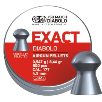 Diabolo JSB Exact, ráže 4,52 mm (.177), 500 ks