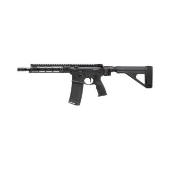 """Samonabíjecí puška Daniel Defense M4 V7 P (Law Tactical), 10,3"""", ráže .223 Rem, sklopná pažba, černá"""