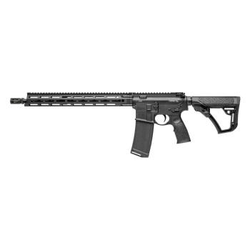 """Samonabíjecí puška Daniel Defense M4 V7 LW, 16"""", ráže .223 Rem, černé"""