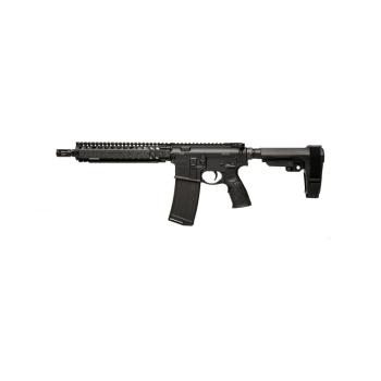 """Samonabíjecí puška Daniel Defense M4 MK18 P, 10,3"""", ráže .223 Rem, černé"""