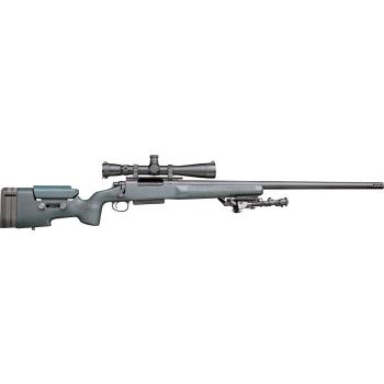 """Opakovací kulovnice Remington 40-XS Tactical HB (set), 24"""", .300 Win Mag, zásobník, úsťová brzda"""