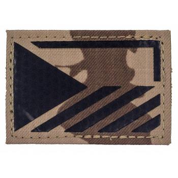 Rozlišovací IR znak AČR - vlajka ČR, vz. 95 pouštní