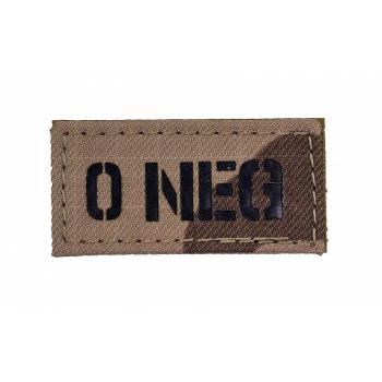 IR znak AČR -  0 NEG, vz. 95 pouštní