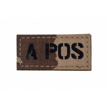 IR znak AČR -  A POS, vz. 95 pouštní