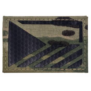 Rozlišovací IR znak AČR - vlajka ČR, MultiCam