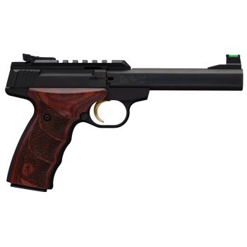 Pistole Browning BUCK MARK PLUS ROSEWOOD, dřevěné střenky, nastavitelná miřidla, 22LR