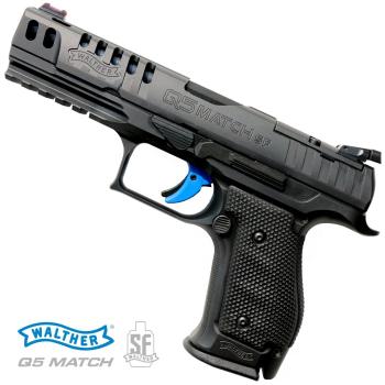 """Pistole Walther samonabíjecí Q5 Match Steel Frame 5"""", 9 mm Luger"""