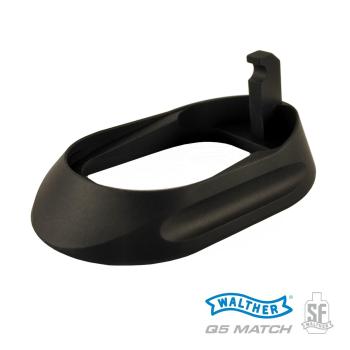 Rozšíření zásobníkové šachty Walther Q5 Match Steel Frame, černé
