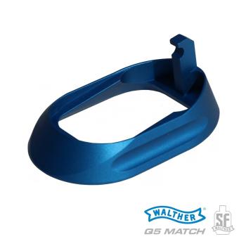 Rozšíření zásobníkové šachty Walther Q5 Match Steel Frame, modré