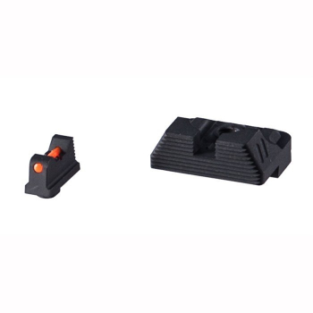Miřidla pro pistole Glock, světlovodná muška, černé hledí, ZEV Technologies