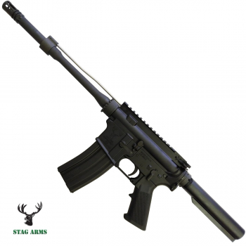 """Puška samonabíjecí Stag Arms Model Bones bez pažbení, hlaveň 11"""""""
