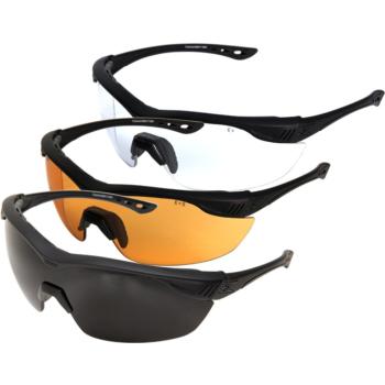 Balistické brýle Edge Tactical Overlord - sada 3 výměnných skel (G-15, čiré, Tiger's eye)