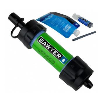 Vodní cestovní filtr SAWYER MINI Filter, zelený