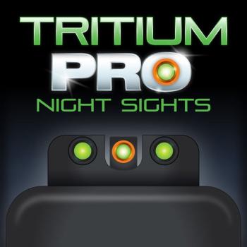 Mířidla CZ P-10 Tritium PRO night sights (Orange), Truglo
