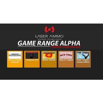 Doplněk pro LA Smokeless Range: Game Range Alpha, Laser Ammo