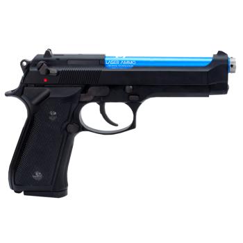 Tréninková laserová pistole, airsoft, M9 IR (KWA M9 PTP CO2) Laser Ammo