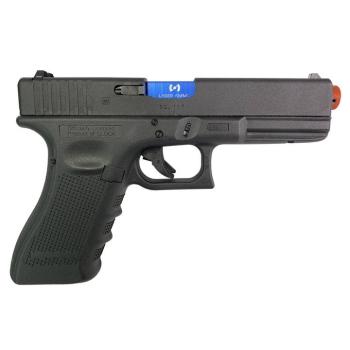 Tréninková laserová pistole, airsoft, Glock 17 Gen4 červený laser-635nm (Umarex Glock 17 Gen4 CO2) Laser Ammo