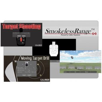 Laserová střelnice LA Smokeless Range s short throw kamerou, Laser Ammo