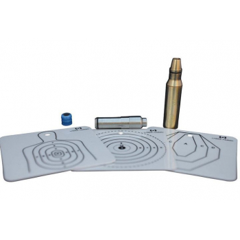 Lovecká sada pro kulovnice 8x57 Mauser SureStrike Hunting Pack, červený laser, Laser Ammo