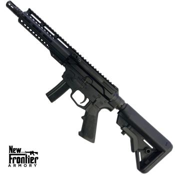 """Puška samonabíjecí AR9, New Frontier Armory C5, hlaveň 8"""", šachta MP5, stran. natahování"""