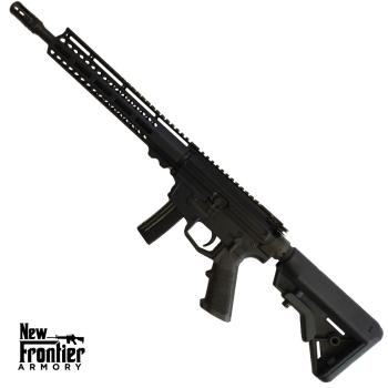 "Puška samonabíjecí AR9, New Frontier Armory C5, hlaveň 12,5"", šachta MP5"