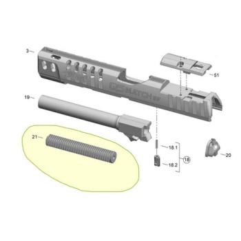 Vratná pružina pro Walther Q5 Match SF, sestava, Walther