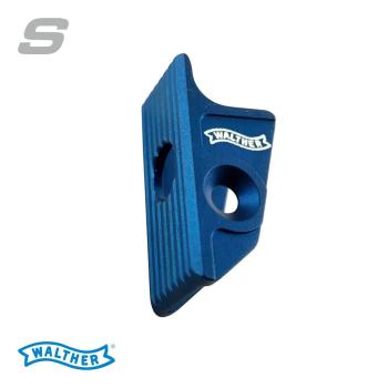 Jazýček spouště Walther Expert trigger flat S, modrý, Walther