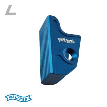 Jazýček spouště Walther Expert trigger flat L, modrý, Walther